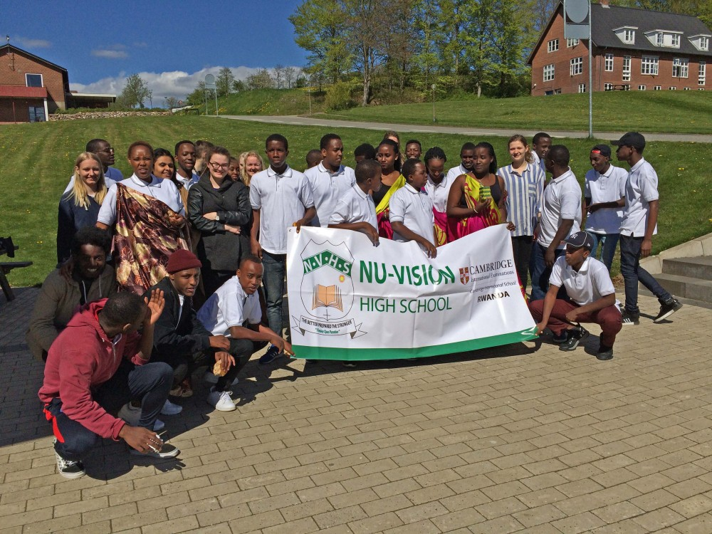Besøg fra Rwanda
