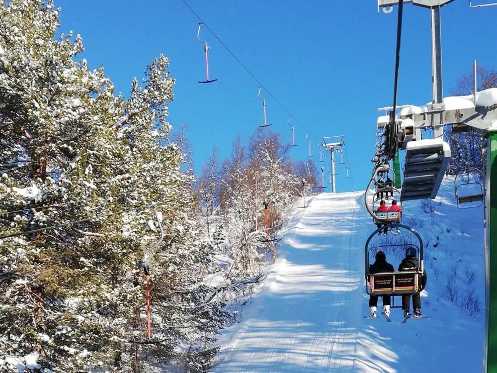 Efterskolens skitur