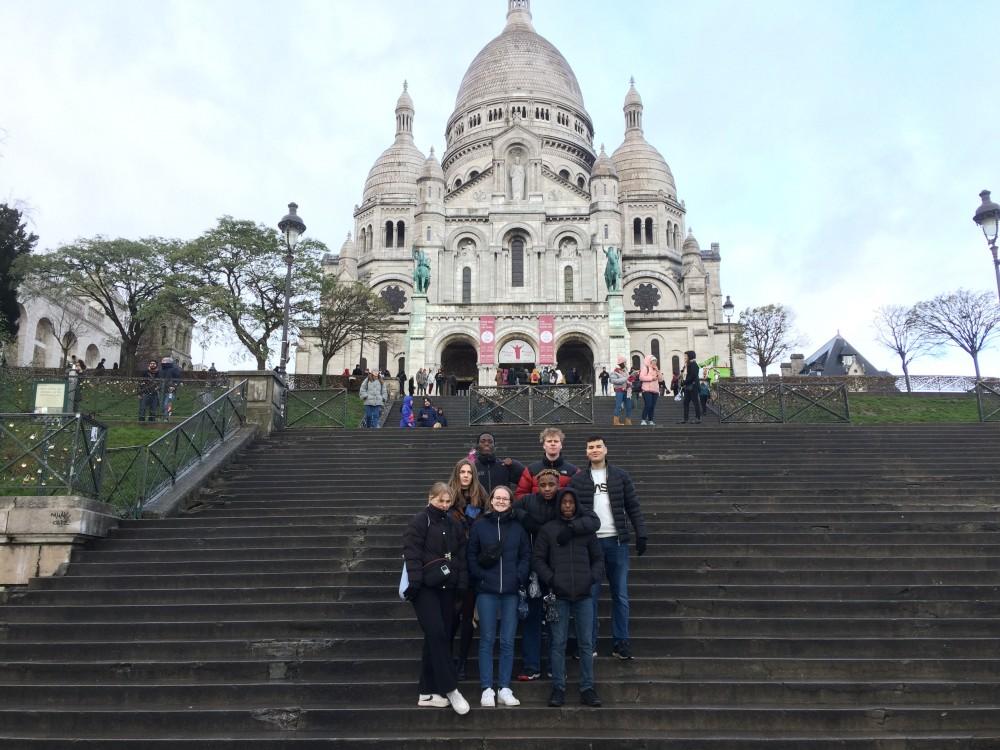 Fransk eleverne i Paris