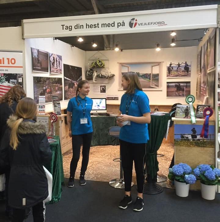 """Vejlefjordskolen er klar på """"Hest og Ryttermesse"""" i Herning"""